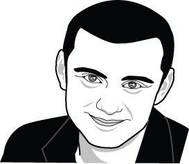 Gary Vaynechuk drawing